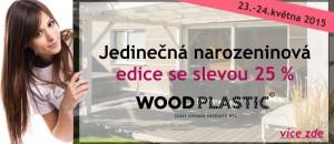 Terasy WoodPlastic slaví narozeniny!