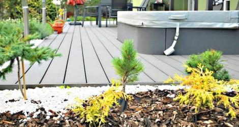 krásná terasa woodplastic